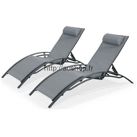 chaise aluminium pas cher chaise longue jardin pas cher transat bain de soleil prix