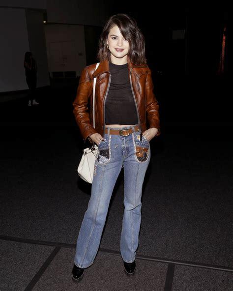 selena gomez represents coach   york fashion week