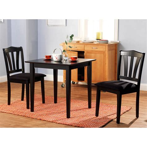 piece dining set table  chairs kitchen room wood