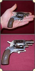 Z Sold British Bulldog Revolver With Folding Trigger
