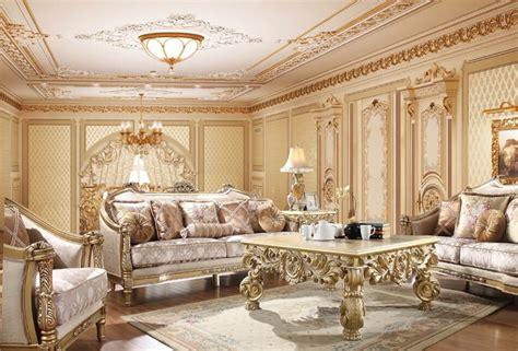 homey design hd  tristan formal living room set