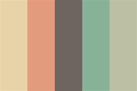 soft colors soft clouds color palette