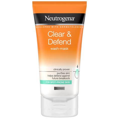 Neutrogena® Clear & Defend 2 in 1 Wash-Mask | NEUTROGENA