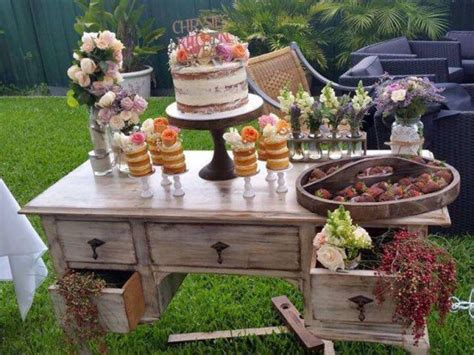 Rustic Bridal Shower Decoration Ideas Elitflat