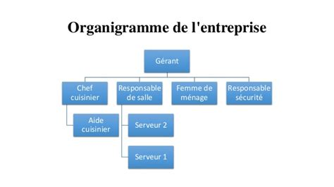 organigramme cuisine collective business plan