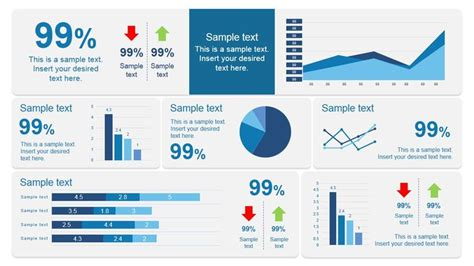 scorecard dashboard powerpoint template dashboard