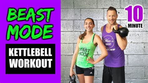 kettlebell workout burn quick beast minute fast calories mode