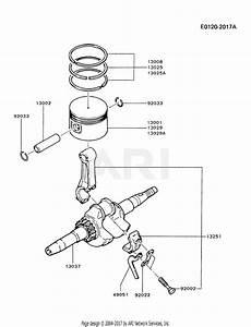 Kawasaki Fa210d Crankshaft