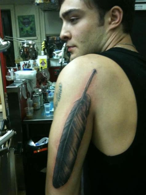 ed westwick tattoos pictures images pics    tattoos