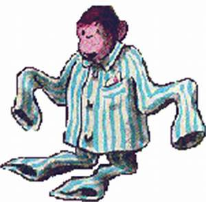 Curious George in PJ's Animated GIF #3348 - Animate It!