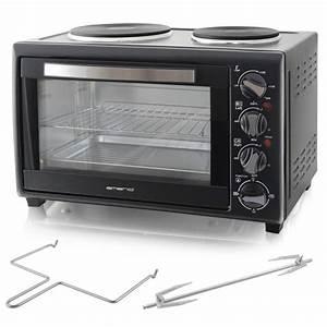 Miniküche Mit Backofen : minik che bestehend aus 2kochplatten und backofen 30liter mit grillspie tomishop ~ Sanjose-hotels-ca.com Haus und Dekorationen