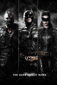 BATMAN DARK KNIGHT RISES - three Poster | Sold at Europosters