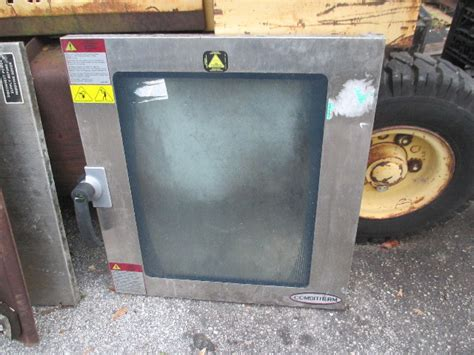 alto shaam  combitherm commercial steam convection oven front door