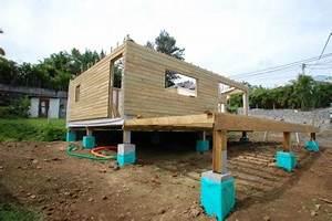 nos techniques bois conseil With maison bois sur plots