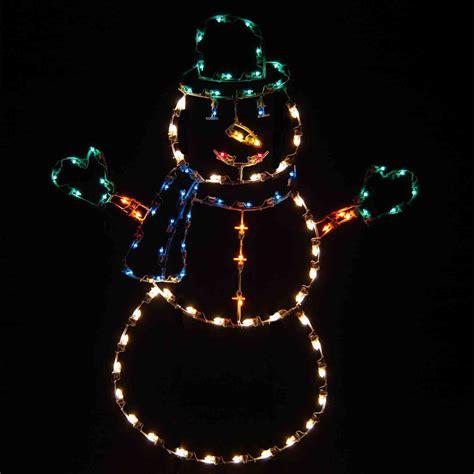 holiday dreams jolly snowman light display led 6