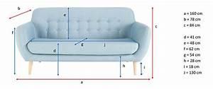 Dimension Canapé 3 Places : test et avis du canap iceberg de maisons du monde ~ Voncanada.com Idées de Décoration