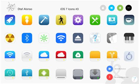 ios icon ios 7 icons 3 by dtafalonso on deviantart