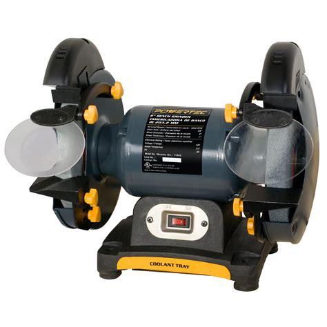powertec  bench grinder