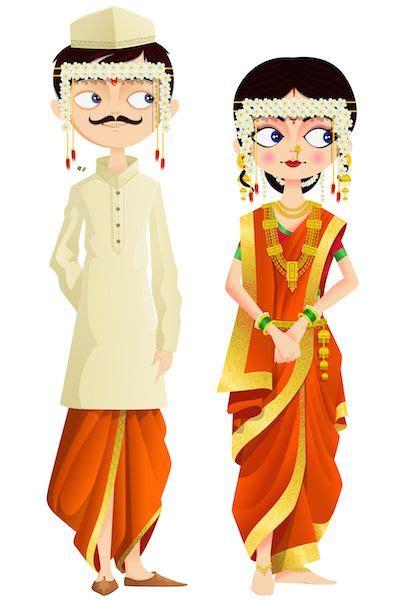 shaadishop  images wedding couple cartoon indian