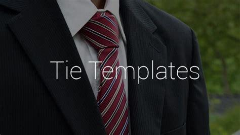 printable tie templates    premium templates