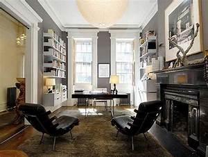 amenager un bureau de style masculin a la maison With bureau a la maison design