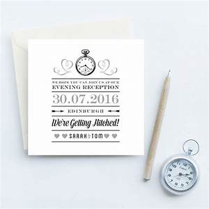 evening reception wedding invites by quirky gift library With wedding evening invitations funny