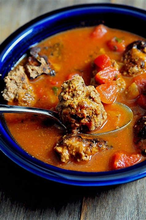 meatball soup recipe cooking add  pinch robyn stone