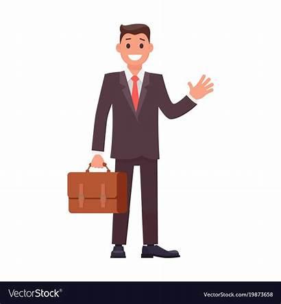 Businessman Flat Character