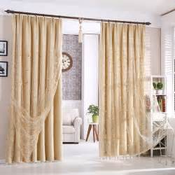 curtains for livingroom beautiful beige blackout polyester living room curtains