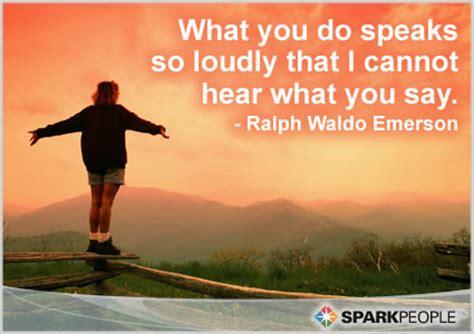 speaks  loudly    hear