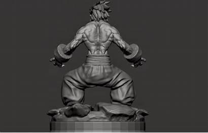 Samurai Enja Showdown Sculpt Zbrush Ramsey