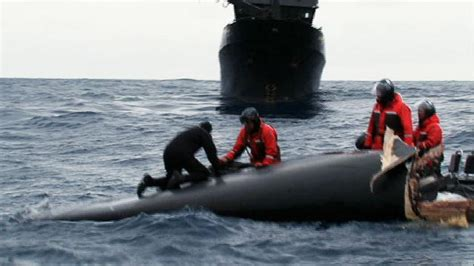 Boat Salvage Tv Show by Salvaging The Ady Gil Whale Wars Animal Planet
