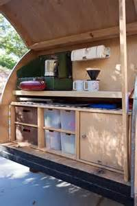 ideas for galley kitchen our teardrop trailer us route 89