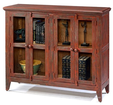rustic bookcase with doors solid pine rustic bookcase console with doors in antique