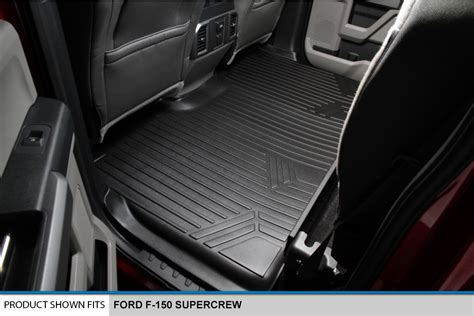 maxfloormat floor mat for f 150 supercrew with front