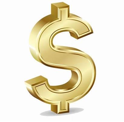 Symbol Transparent Money Dollar Sign Clip Gold