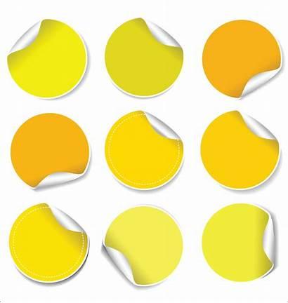 Vector Stickers Sticker Peel Vectors Vecteezy Clipart