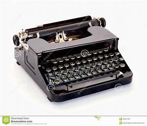 Vintage Typewriter Stock Image - Image: 32051401