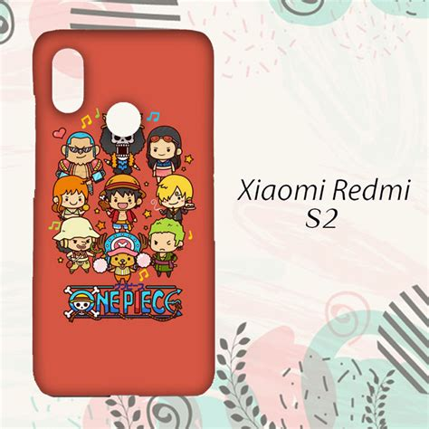 diskon casing xiaomi redmi  custom hp  piece cartoon