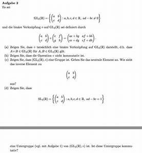 Zerfallskonstante Berechnen : 2x2 matrizen bin re verkn pfung zeigen mathelounge ~ Themetempest.com Abrechnung