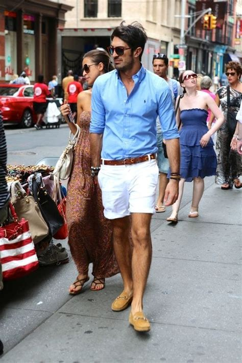 stylish mens outfits combinations  shorts summer style