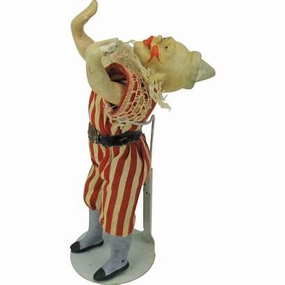 Century 19th Acrobat Clown Doll Unusual Quirkyantiques