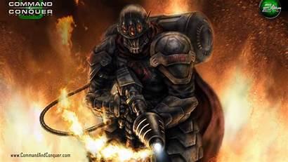Soldier Nod Brotherhood Hand Flame Tiberium Wars
