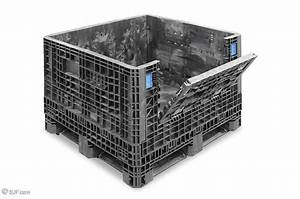 Used Collapsible Plastic Containers  Totes  U0026 Storage Bins