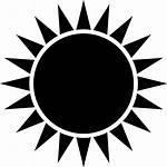 Sun Rays Clipart Icon Mandala Shine Sunshine