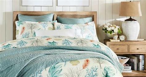 Beach Blue Earthy Bedroom