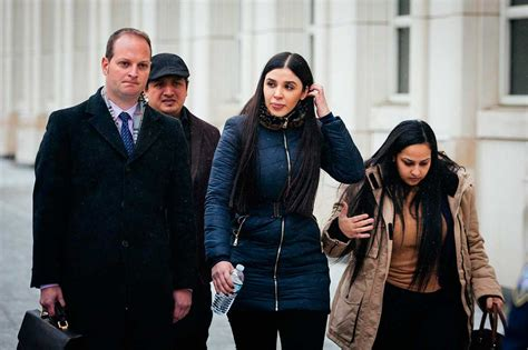 Esposa del Chapo Guzmán, cerca de un acuerdo de culpabilidad