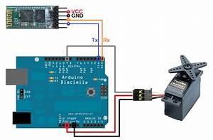 Android Arduino Control  Arduino Bluetooth Servo Motor