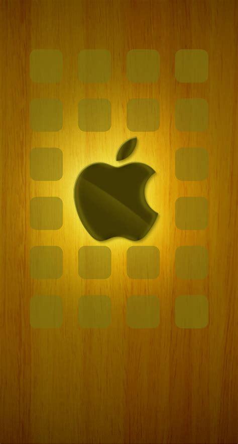 apple logo shelves brown wallpapersc iphones