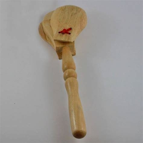 granite percussion wood handle castinet mcquade